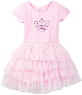 Popatu Crown Tutu Dress (Toddler & Little Girls) $34 thestylecure.com
