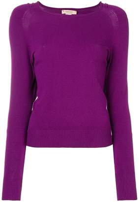 Twin-Set gathered detail sweater