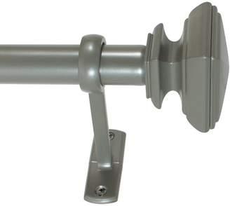 Decopolitan Square Outdoor Drapery Rod Set - 42''-120''
