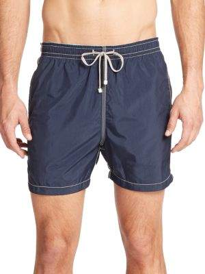 Saks Fifth Avenue COLLECTION Solid Swim Trunks