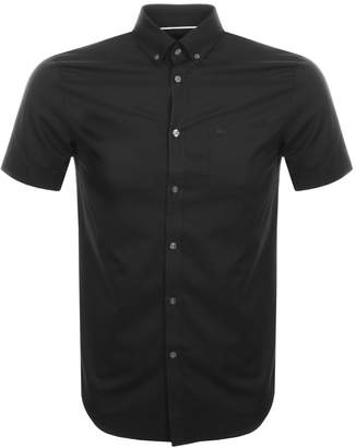 Lacoste Short Sleeved Pocket Shirt Black
