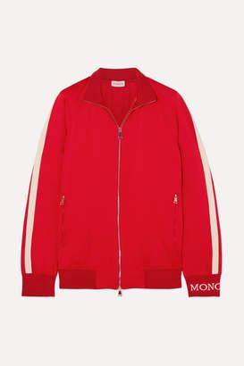 Moncler Jersey Bomber Jacket - Red