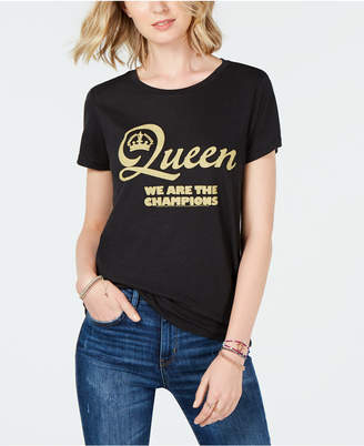 Lucky Brand Queen Graphic Short-Sleeve Top