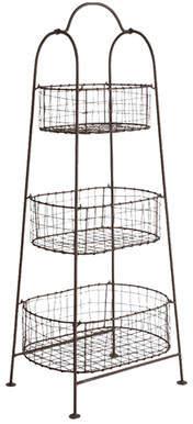 Napa Home & Garden Melanie 42'' Three Shelf Shelving Unit