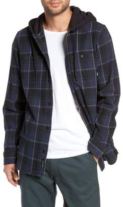 Vans Lopes Hooded Plaid Flannel Jacket