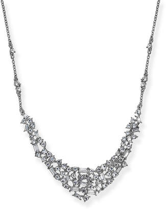 INC International Concepts INC silver tone crystal necklace