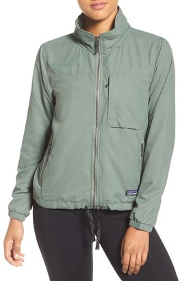 Women's Patagonia Mountain View Windbreaker Jacket $169 thestylecure.com