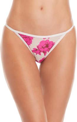 Calvin Klein Floral Sheer Bikini Panty