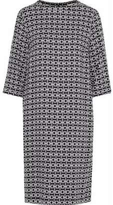 Max Mara Jana Printed Crepe Dress