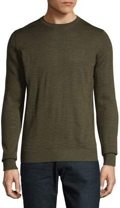 Bruun And Stengade Wool-Blend Crew neck Sweater