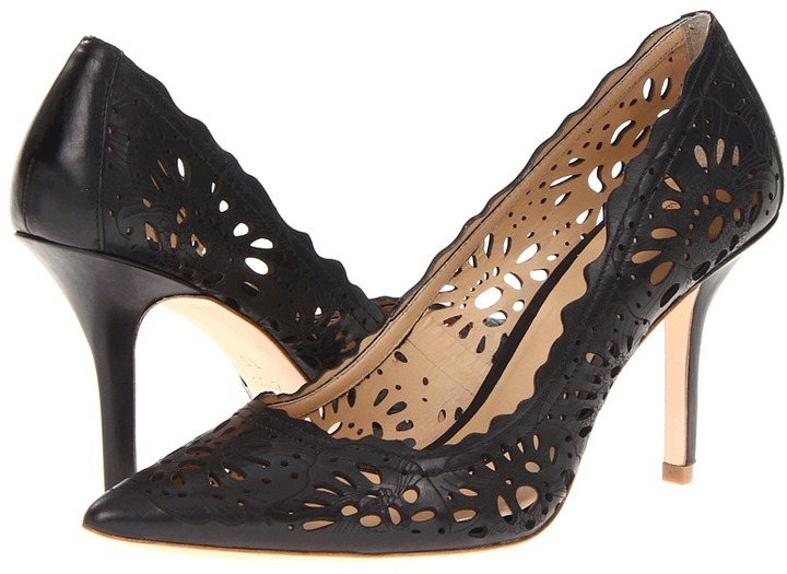 AERIN Flammands (Black Calf) - Footwear