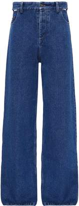 Y/Project Cutout waist wide leg unisex jeans