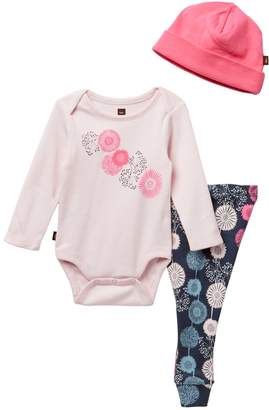 Tea Collection Puff Baby Outfit - 3-Piece Set (Baby Girls)