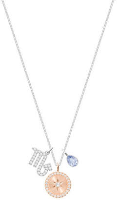 Swarovski Zodiac Pavé Crystal Scorpio Pendant Necklace