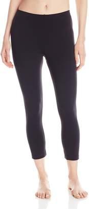 Danskin Women's Classic Supplex Body Fit Capri Legging
