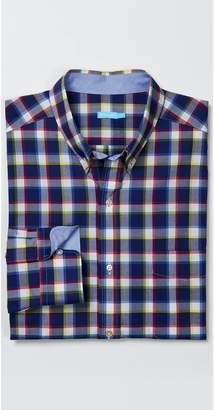 J.Mclaughlin Carnegie Classic Fit Shirt in Big Check