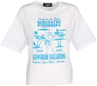 DSQUARED2 Tshirt Girl Hawaii