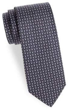 Salvatore Ferragamo Graphic Silk Tie