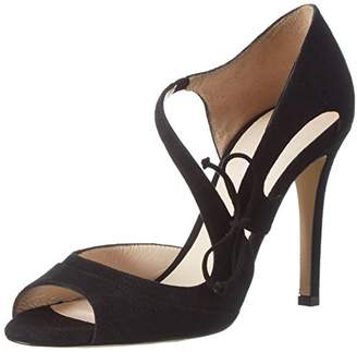 deb241cb6abb LK Bennett Black Heeled Sandals For Women - ShopStyle UK