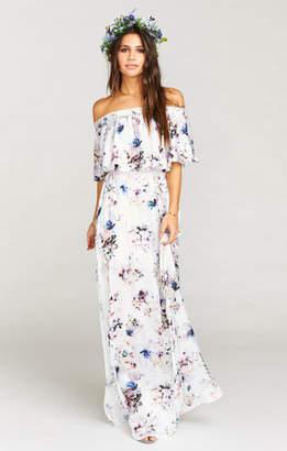 Show Me Your Mumu Hacienda Maxi Dress ~ Bouquet Beauty