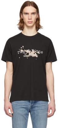 Rag & Bone Black Bleach T-Shirt