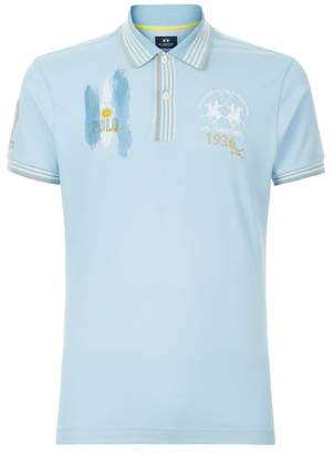 La Martina Argentina Flag Polo Shirt