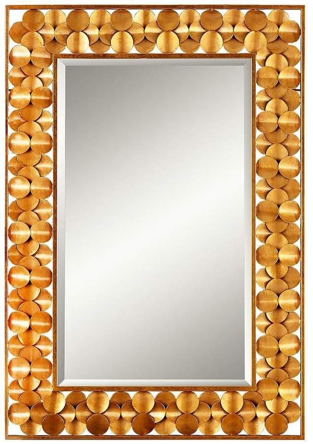 Circle Border Rectangular Mirror