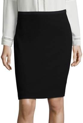 Elie Tahari Women's Bennet Crepe Pencil Skirt