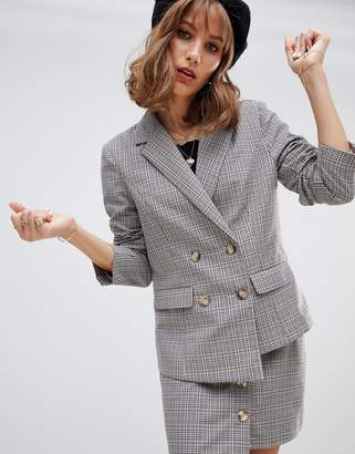 Wild Honey blazer with asymmetric hem two-piece