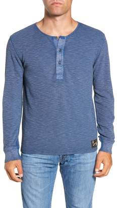 Frye Matthew Acid Wash Thermal Henley