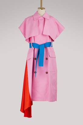 MSGM Sleeveless trench coat