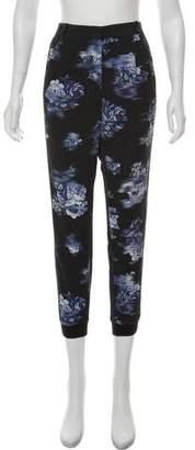 Tibi Silk Jogger Pants