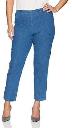 Just My Size Women's Apparel Women's Plus Size Stretch Pull On Jean