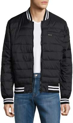 Members Only Varsity Puffer Jacket