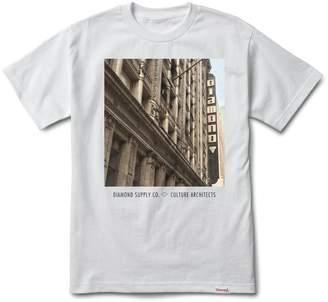 Diamond Supply Co. Culture Architects Men's Shortsleeve T-Shirt White a16dpa23-wht (Size 2X)