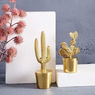 west elm Brass Cactus Objects