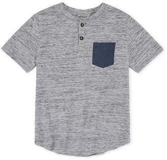 Arizona Short Sleeve Henley Shirt Boys 4-20