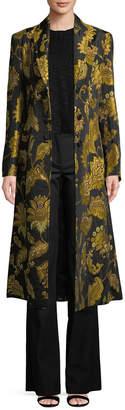 Derek Lam 10 Crosby Derek Lam Floral Long Coat