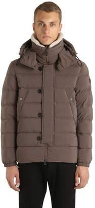 Peuterey Gripen Down Jacket W/ Faux Shearling