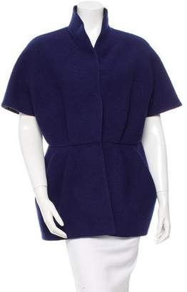 Les Copains Short Sleeve Wool Jacket w/ Tags