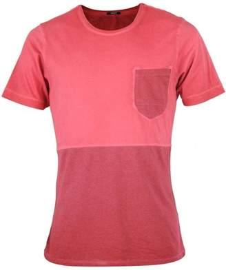 Denham Jeans Cut And Sew Pocket T-shirt