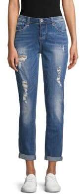 Seven7 Sequin Distressed Jeans