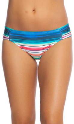 La Blanca Solar Stripe Bikini Bottoms