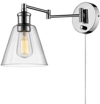 Laurèl Foundry Modern Farmhouse Southbury 1-Light Swing Arm Lamp