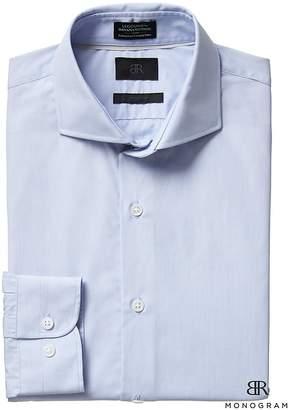 Banana Republic Monogram Grant Slim-Fit Italian Cotton Dress Shirt