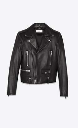 Saint Laurent Motorcycle Jacket In Lambskin