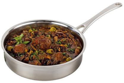 Le Creuset® 3-Ply Stainless Steel Sauté Pan