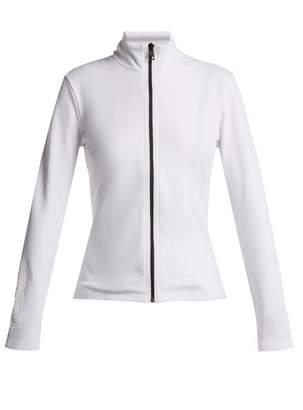 Fendi - Logo Print Zip Through Performance Jacket - Womens - White