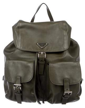 Prada City Calf Backpack
