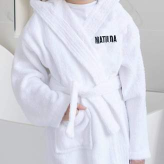 Able Labels Personalised Super Soft Bath Robe